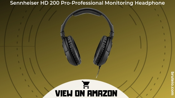 Sennheisers HD 200 Pro-Professional Monitoring Headphone