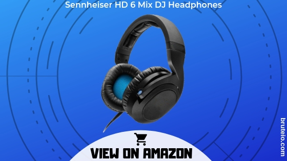 Sennheisers HD 6 Mix DJ Headphones