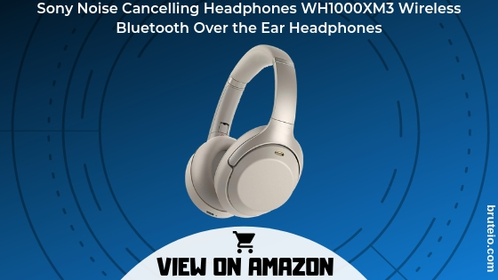 Sony Noise Cancelling Headphones WH1000XM3: